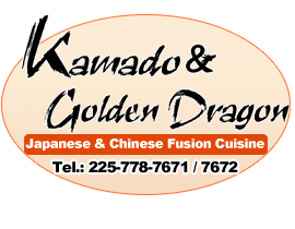 Kamado & Golden Dragon Japanese & Chinese Restaurant, Baton Rouge, LA